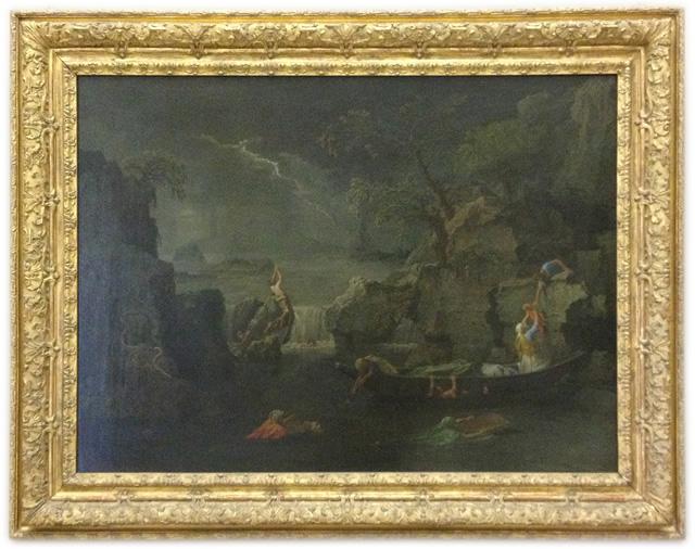 Nicolas Poussin - Les Quatre Saisons - L'Hiver
