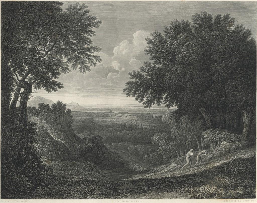 Abraham and saac - Gaspard Dughet - John Pye