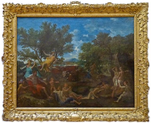 Nicolas Poussin - Apollon amoureux de Daphné