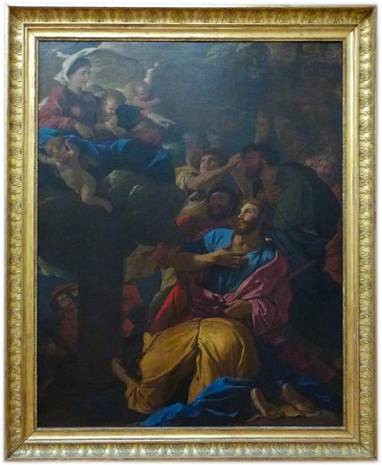 Nicolas Poussin - Apparition de la Vierge à saint Jacques le Majeur