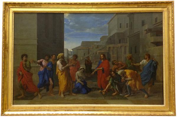 Le Christ et la femme adultère, 1653 - Musée du Louvre