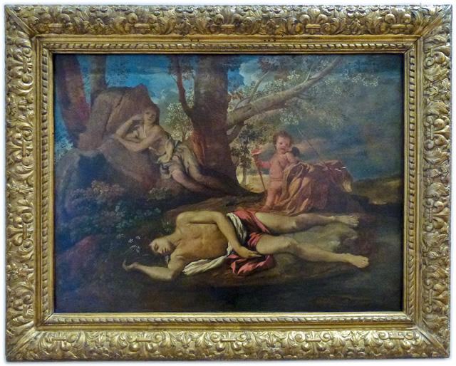 Nicolas Poussin - Écho et Narcisse