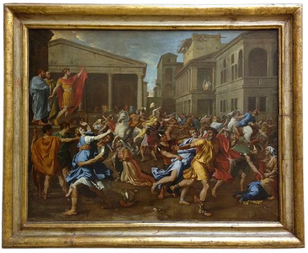 L'enlèvement des Sabines, 1637-1638 - Musée du Louvre