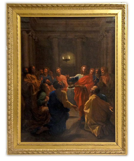 Nicolas Poussin - Jesus Christ instituting the Eucharist