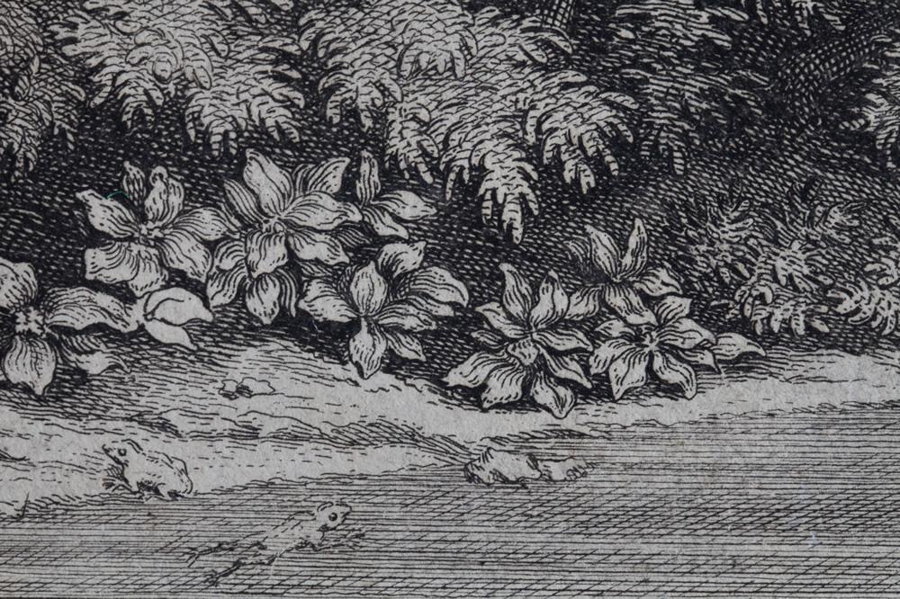 Le Printemps (1660-1664) - Détail 3 - Gravure d'Audran