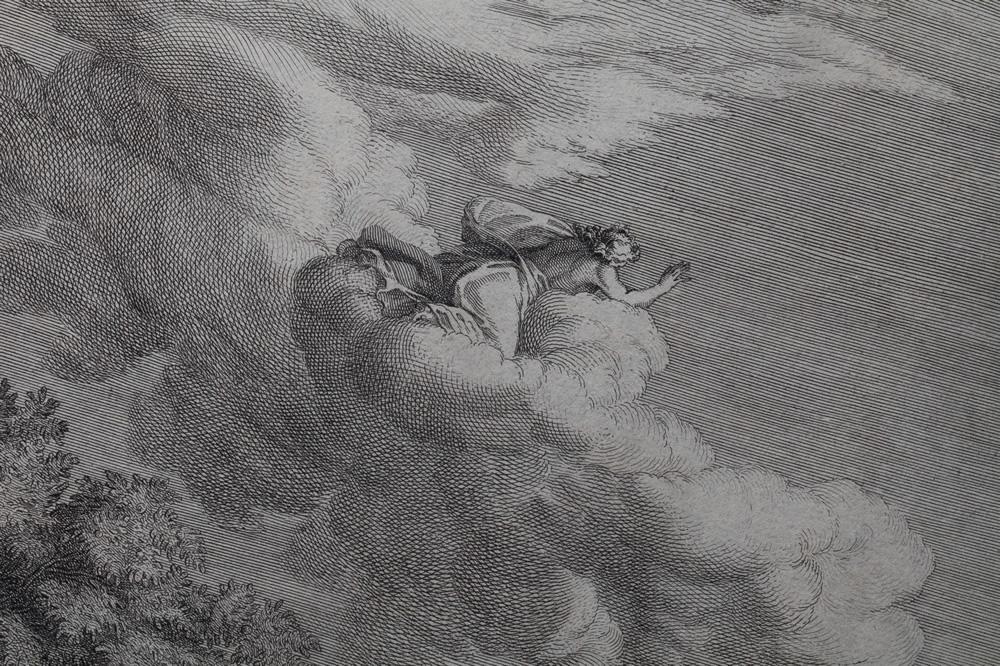 Le Printemps (1660-1664) - Détail 2 - Gravure d'Audran
