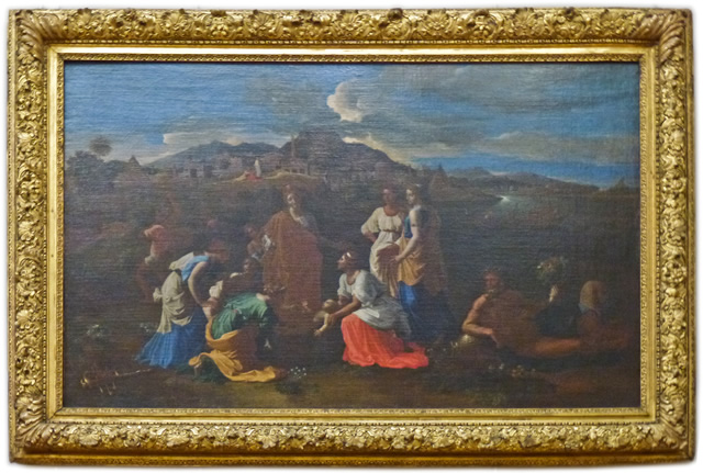 Nicolas Poussin - Moses saved from the Water