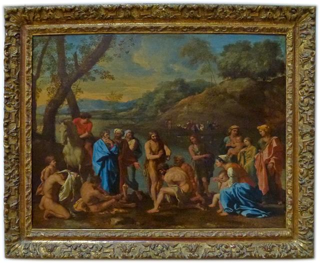Nicolas Poussin - Saint John baptising the people