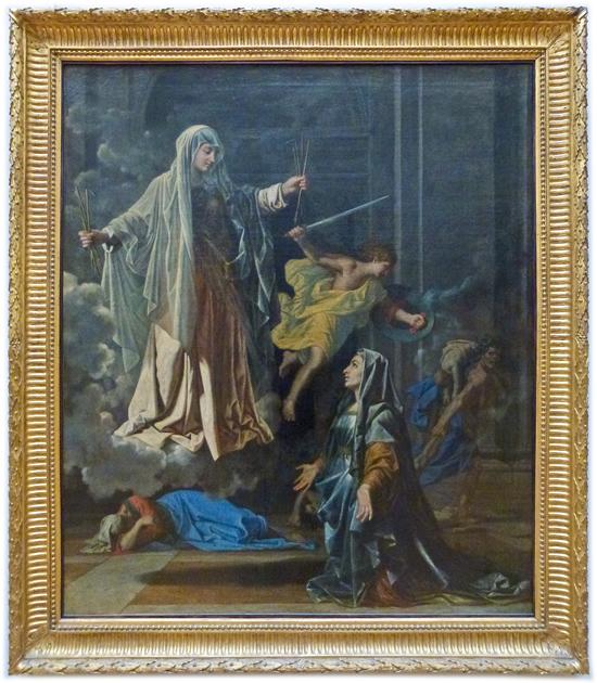 Nicolas Poussin - Saint Frances of Rome