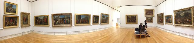Louvre, Aile Richelieu, 2e étage, Salle 14 - Oeuvres de Poussin - Vue 1