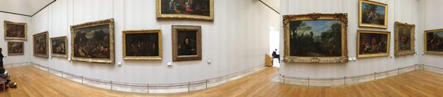 Louvre, Aile Richelieu, 2e étage, Salle 14 - Oeuvres de Poussin - Vue 2