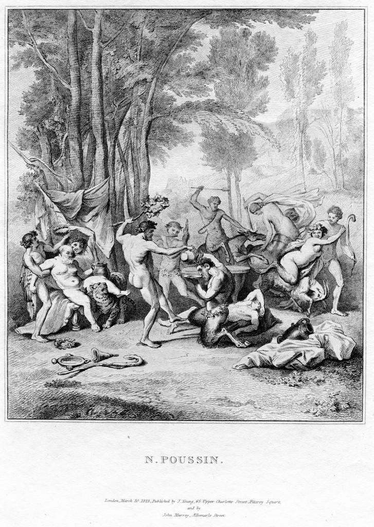 Bacchanale - Le Triomphe de Silène (perdu au XVIIIe siècle)